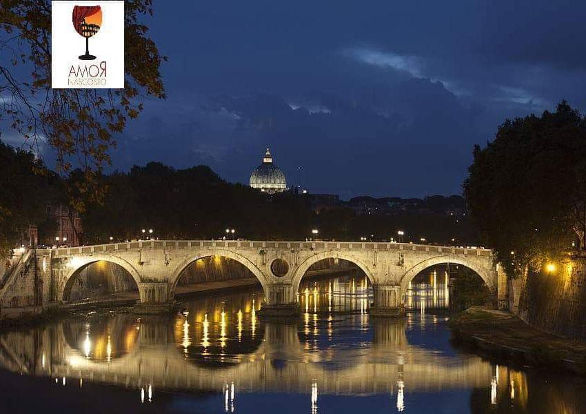 Ponti di Trastevere: visita guidata serale con aperitivo incluso